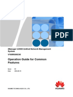 Huawei IManager U2000 Operation Guide for Common Features