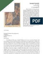 Open Letter to the President of Ukraine Petro Poroshenko