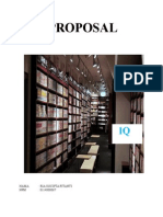 PROPOSAL. Library Cafe