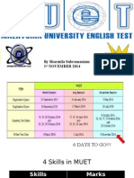 Introduction To MUET