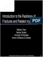 Fractures Traumatology
