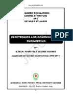 III B.tech(ECE) II Sem-Syllabus