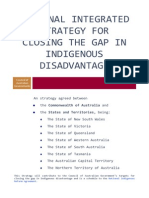 National Integrated Strategy for Closing the Gap in Indigenous Disadvantage