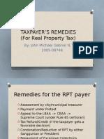 RPT Remedies