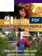 21 traits Highly Sensitive