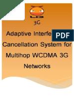 AdaptiveInterferenceCancellationSystemforMultihopWCDMA3G