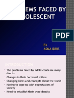Problems Faced by Adolescent