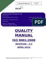 1. QM-Quality Manual Nuetech