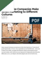 The Mistake Companies Make