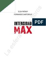 Intensidad Max Primeras Paginas Paginas Del Libro 16 Es