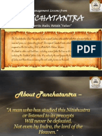 Session 10 Panchatantra