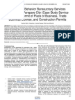 Analysis in Behavior Bureaucracy Services Licensing in Parepare City Case Study Service Issuance Permit of Place of Business Trade Business License and Construction Permits