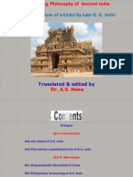 Engineering Philosophy of Ancient India