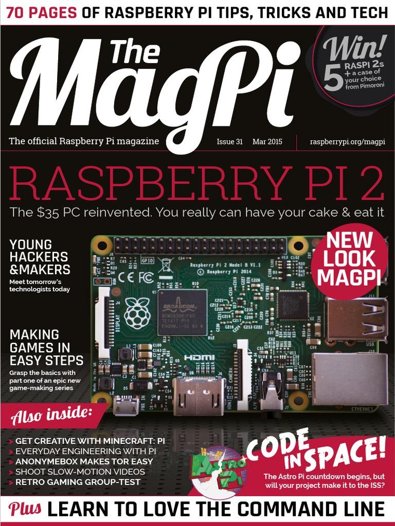 The Magpi Issue 31 Enpdf Raspberry Pi Windows 10 Wiringpi2 Python I2c