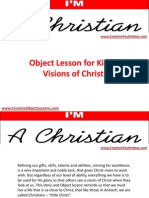 Object Lesson for Kids - Visions of Christ