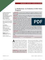 Cystic Glioblastoma an Evaluation of IDH1 Status.9