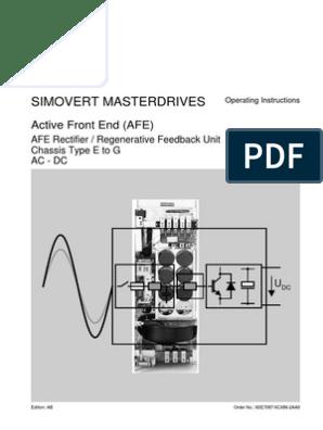 6SE7087-6CX86-2AA0 | Electrostatic Discharge | Power Inverter