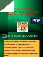 Evaluacion Capacidad Actitud Ante en Area Iep Niño Jesus 2015