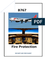 Protección contra fuego en B767-300