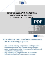 Eurocodes and National Annexes in Serbia – Decembar 2013