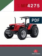 Trator Mf4275