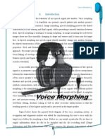 39820375 Voice Morphing