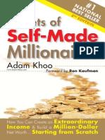 secret of self made millionaire