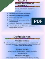 Tema 4 Mecanismo de Defensa Del Hospedero