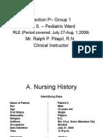 Power Point AGE document case presentation