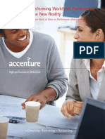 Accenture Transforming Workforce Performance in the New Reality