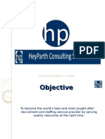 hp consulting services