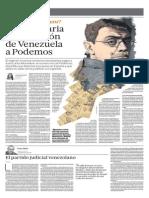 Yolanda Vaccaro Podemos Monedero Venezuela