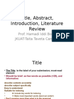 Title, Abstract, Introduction, Literature Review-Boga