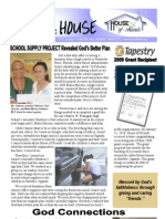 House of Friends newsletter January 2010