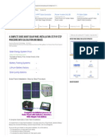 Solar Panel Installation_ Step by Step Procedure