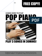 How to Play Pop Piano in 30mins