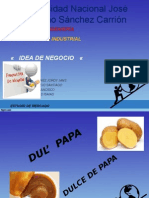 Idea de PLAN DE NEGOCIO