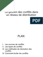 La gestion des conflits dans un réseau de distribution