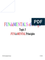 Fundamentals Topic 3