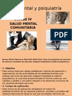 Unidad 4 Salud Mental