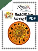 March Astro Forecast 2015