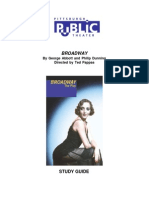 Broadway (Play) Study Guide