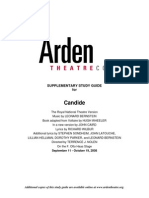 Candide (Arden) Supplentary Study Guide