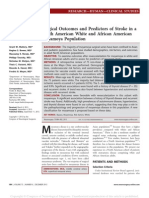 Surgical Outcomes and Predictors of Stroke in a.17