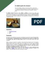 Receta Casera de Pasta de Sesamo