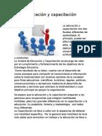 Educación y capacitación REPORTE.docx