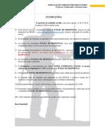 DP_Simulado Premiado_Prof. Flaviano Lima