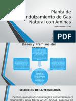 Planta de Endulzamiento de Gas Natural Con Aminas