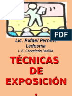 Tcnicasdeexposicin II 110822115235 Phpapp01
