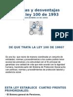 Ventajas y Desventajas de La Ley 100